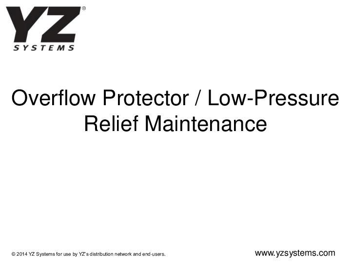 Overflow-Protector-Maintenance
