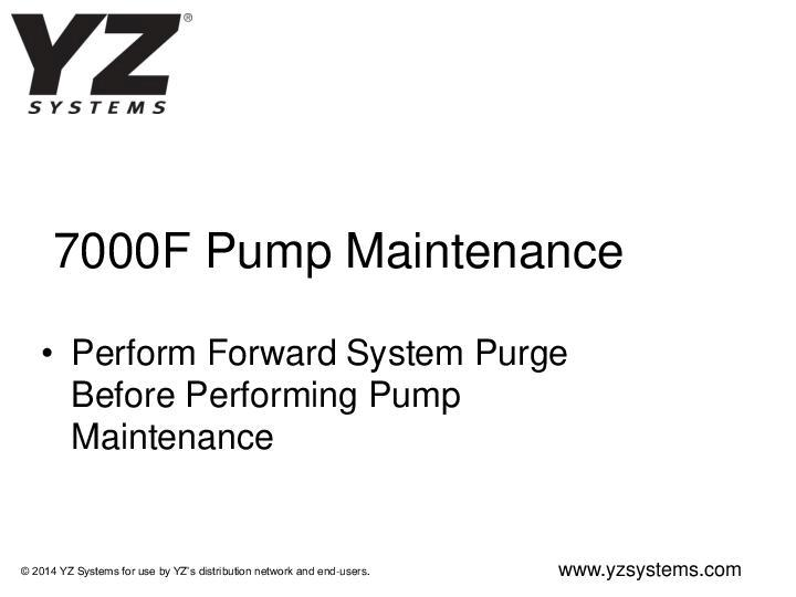 7000F-Pump-Maintenance